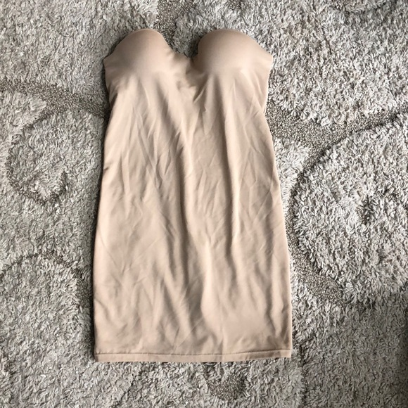 Flexees Other - Flexees slip with built in bra nude size 36B